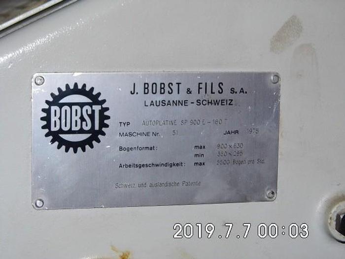 1975 BOBST SP-900-E