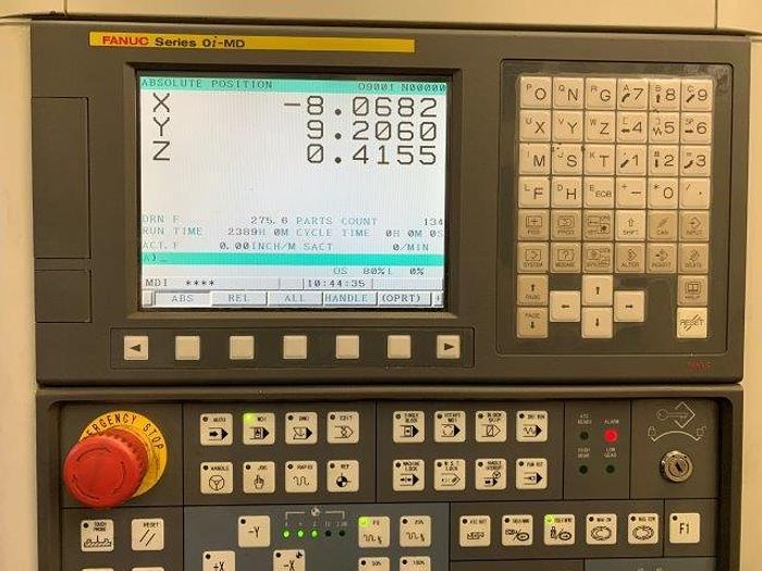"31""X, 19""Y, 19""Z, SMTCL VMC850, 4th AXIS ROTARY TABLE, FANUC OI [5441]"