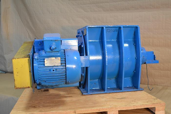 Used AMF metal wheel Feeder, size 20X20, 7.5HP.