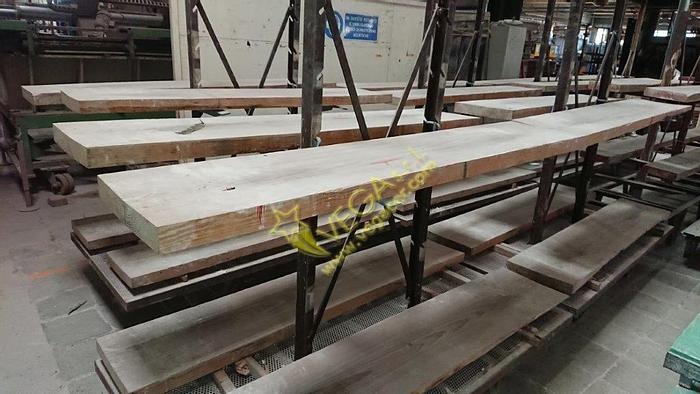 Used Dense and very hard / heavy wooden boards