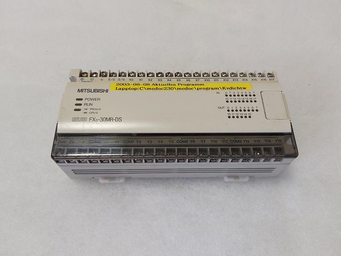 Gebraucht Mitsubishi Electric FX0-3OMR-DS, 24VDC,