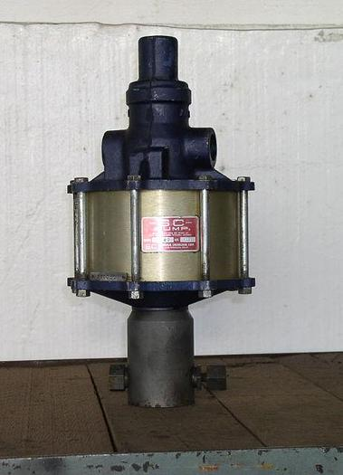 Used Air Operated Liquid Pump - SC Hydraulic Engineering Co. 10-500-4.5