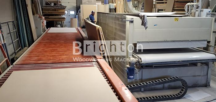 1998 Midwest HP 510A-160 Laminating line with press