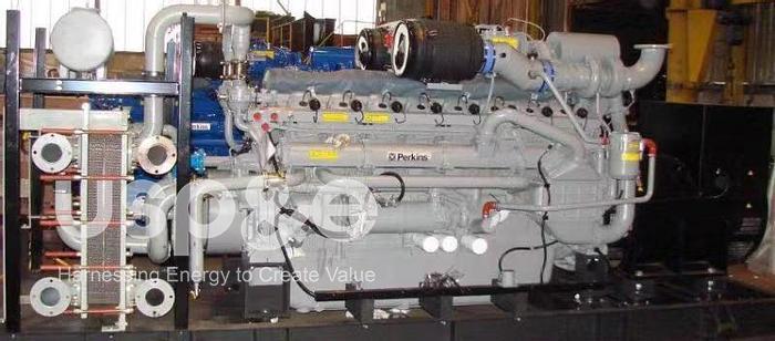 1 MW 2017 New Perkins 4016-65TRS2 Natural Gas Generator