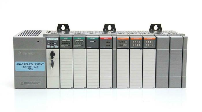 Used Allen Bradley SLC 500 10-Slot 1746-P2 1747-L551 1746-NI8 1746-NO4I +More (7133)R