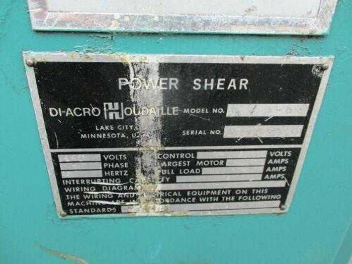 "RARE DIACRO 24"" 16 GAUGE POWER SHEAR"