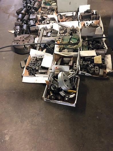 WASINO LJ-62M CNC Lathe, FANUC 10T CONTROL - Live Tooling, Lots of tooling !