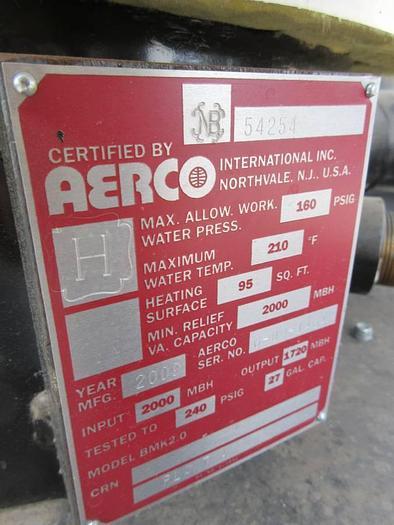 Aerco Benchmark 2.0 Boiler  BMK2.0