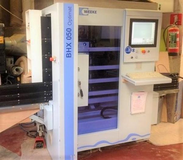 MEN012 2010 Weeke BHX 050 Centro di lavoro verticale flessibile