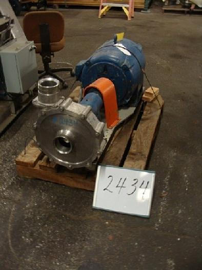 Used Tri-Clover 4'' x 4'' Centrifugal Pump #2434