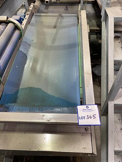 Used Stainless Steel Conveyor 1.9m L 0.7m W