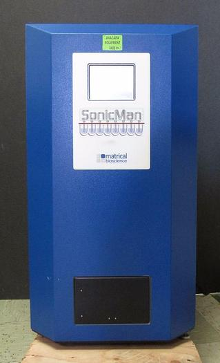 Used Brooks Matrical SonicMan SCM1000-3 Wellplate Microplate Tube Sample Prep (2453A)