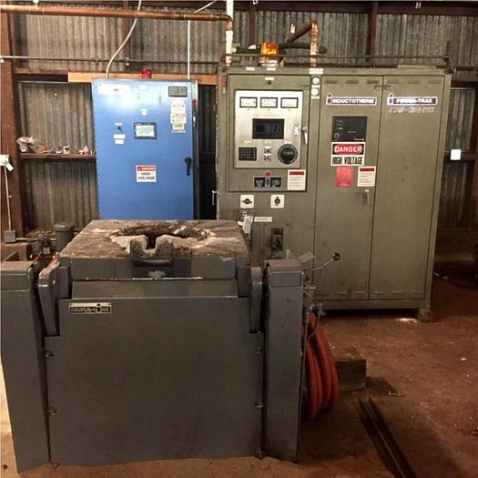 Used 2019 INDUCTOTHERM VIP Power Trak 175-30, 500 Lb