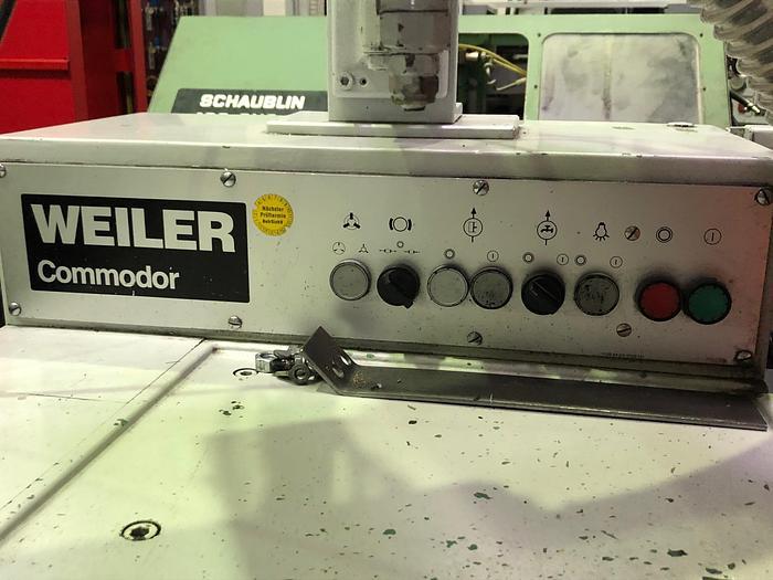 1991 Leit- und Zugspindel Drehmaschine WEILER COMMODOR