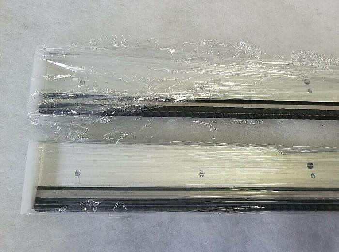 2 Stk. Rakelbalken zu Schablonendrucker SP003, 270145/4A, 430x26x0,3mm, Essemtec,  neu