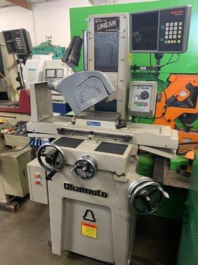 "Used 6"" x 12"", OKAMOTO PFG-612, 8"" WHEEL, 1.5 HP, ELECTRO-MAG CHUCK   Our stock number: 5534"