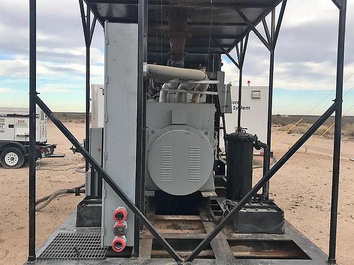 3 MW Used Waukesha L7042GSI Natural Gas Generators