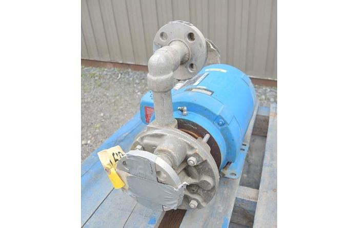 "USED CENTRIFUGAL PUMP, 1"" X 1"" INLET & OUTLET, STAINLESS STEEL"