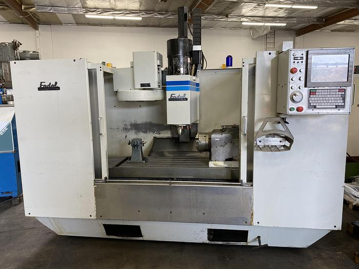 Used FADAL VMC 4020 HT 1989 CNC VERTICAL MACHINING CENTER WITH 4TH AXIS