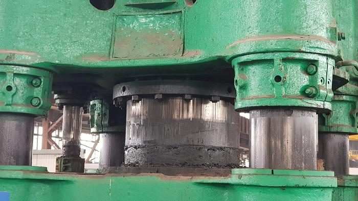 1970 Forging press hydraulik Schloemann 1500t