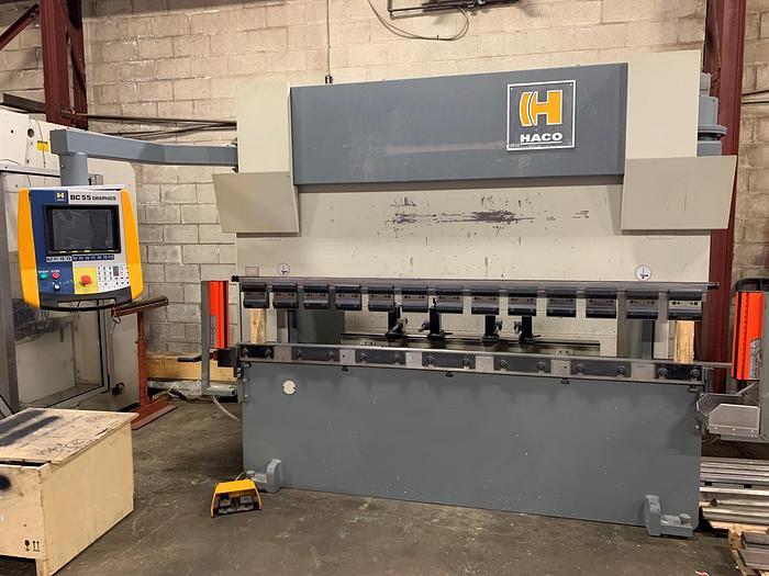 "Used 110 TON X 98"", HACO CNC PRESS BRAKE"
