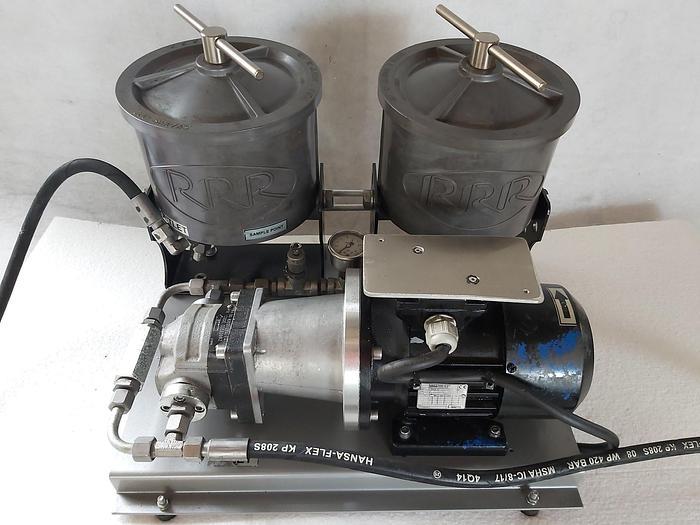 Gebraucht Hydraulikpumpe mit Filter, KP20.4-DO-82E2-LEA/EA, 2x R 100,  gebraucht-Top