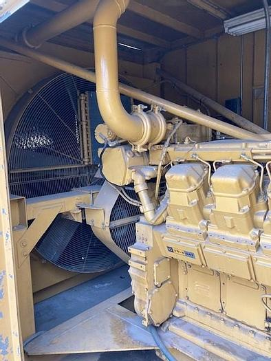 Used Caterpillar 3516 1500kW Continues Duty  4160 Volt 60 Hz