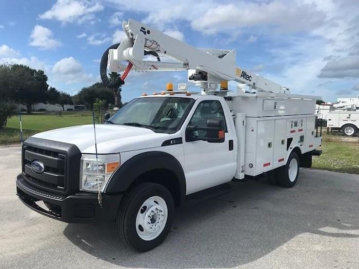 Used 2013 Ford F550 Altec AT40G 45ft Bucket Truck - C88333