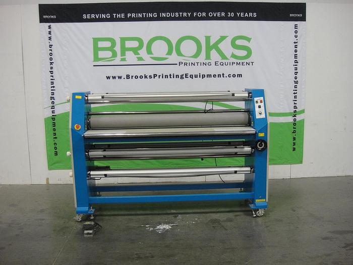 "Used US Tech Master Worf 65"" Cold Laminator"