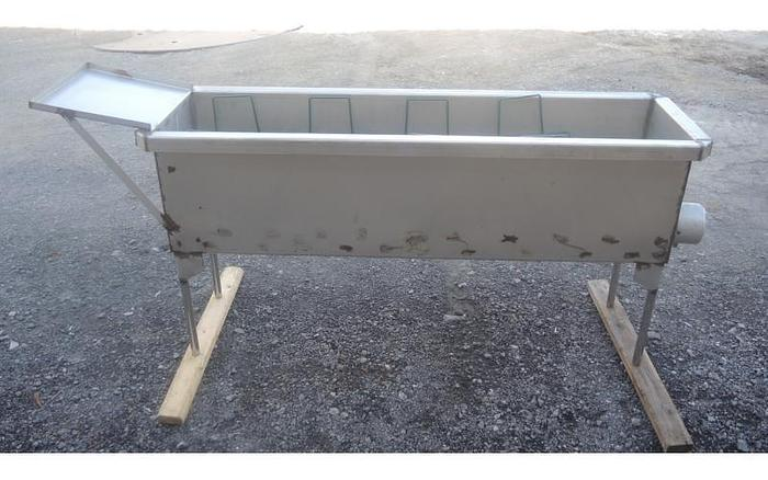 USED LARGE STAINLESS STEEL, HOT WATER BATH / COOKER / STERILIZER