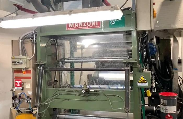 Manzoni Nesaflex - 3 colors roll to roll stack type flexo (1050 mm)
