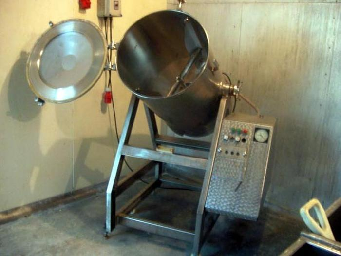 Używane Masownica próżniowa ze stali nierdzewnej, pojemność 190  l