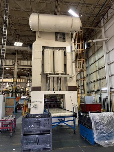 1000 ton Danly Stamping Press