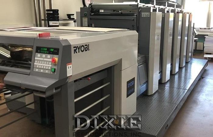 Used 2012 Ryobi 755G XL LED UV