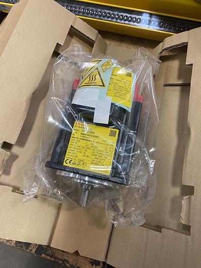 FANUC A06B-0212-B205 AC SERVO A2/5000 iS MTR W/O BRK STR