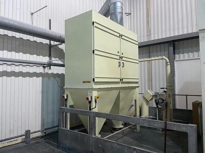 Used DUSTRACTION 50M55KW LEV System