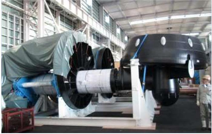 Rolls Royce Azimuth Thruster Retractable System