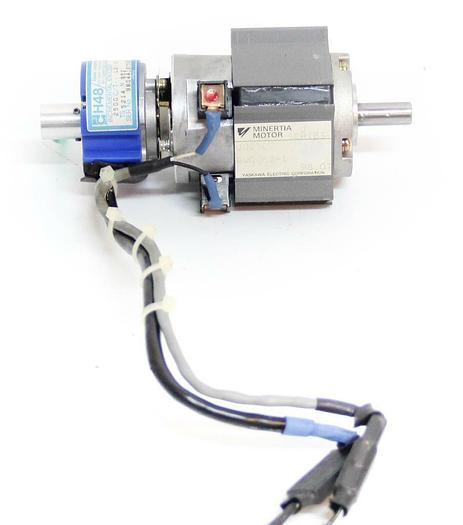 Used Minertia Motor J02SC2 J Series w/ Daido Incremental Encoder dH48 (5518)