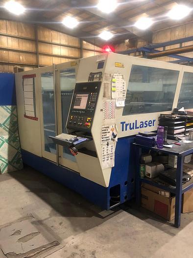 Used 2006 5000 Watt Trumpf Trumatic L-4050 C02 Laser Cutting System