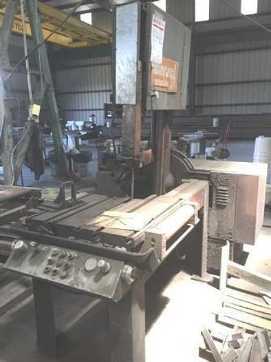 """1980 Marvel 81A Vertical Band Saw 