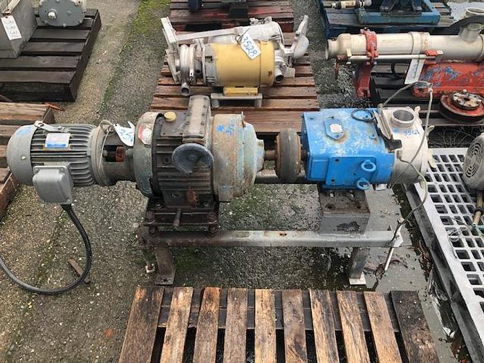 Used Waukesha Model 130 Positive Displacement Pump