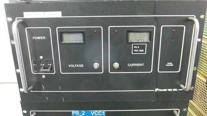 Used Power Ten Inc 4712D-101000 Power Supply, 4712D-101000 / AC 190~253 V / 48A / 50~60Hz / Power T