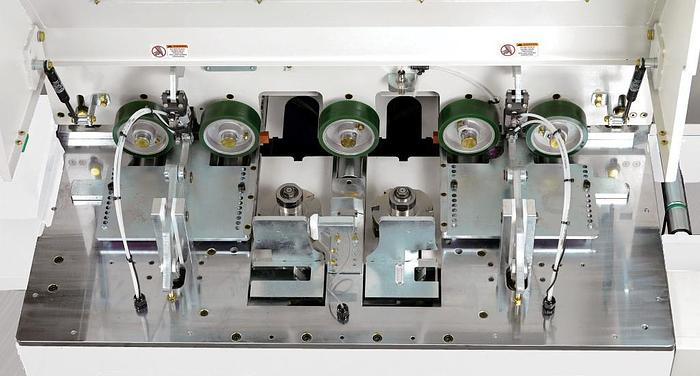 Cantek EM12 Continuous Throughfeed End Matcher