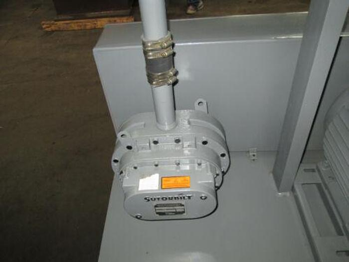 POSITIVE DISPLACEMENT SUTORBILT PUMP AND MOTOR 15 HP SINGLE
