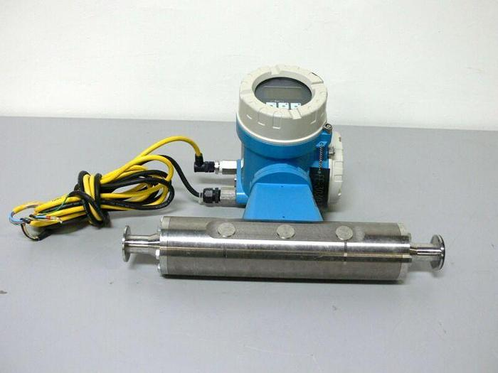 "Used Endress Hauser Promass M 83 83M25-AATFAAAAL2AK 1"" Triclamp Flowmeter"