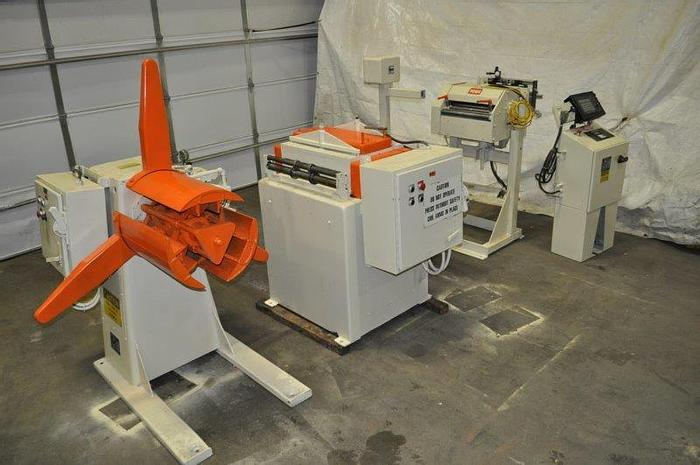 Used 15 IN WIDE X .093 X 8,000 LB CWP/ROWE SERVO FEED LINE