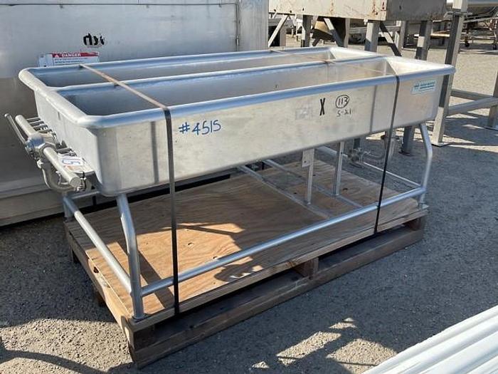 Used DEC-Sani Matic Dual Compartment COP Tank