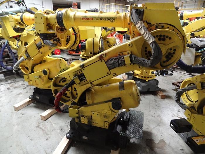 Used 200- FANUC R2000i/165F ROBOT W/RJ3I MODEL B CONTROLLER