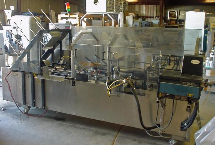 Used SPARTAN ECONOSEAL HORIZONTAL CARTONER AND OTHER ITEMS