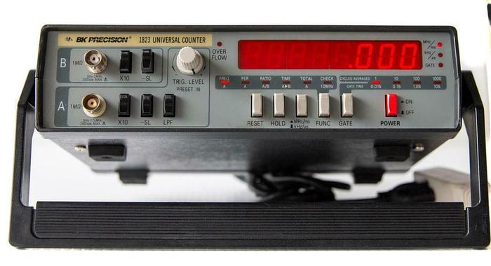 Used Bk Precision 1823 175 MHz Digital LED Universal Counter Display (7480)W
